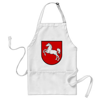 Lower Saxony (Germany) Coat of Arms Adult Apron