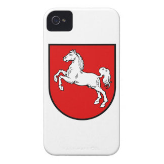 Lower Saxony Germany Coat of Arms iPhone 4 Case