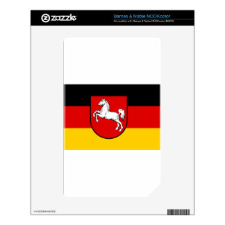 Lower Saxony (Germany) Decals For NOOK Color