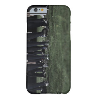 Lower section of a group of rugby players barely there iPhone 6 case
