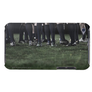 Lower section of a group of rugby players iPod Case-Mate cases