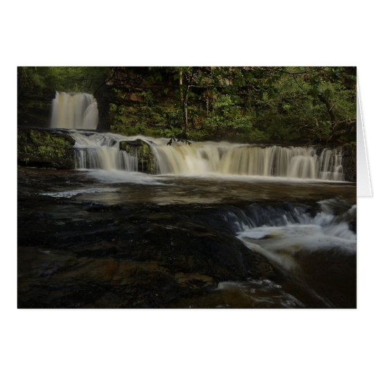 Lower Sgwd Ddwli Waterfall Card