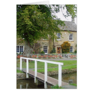 Lower Slaughter Gloucestershire Card