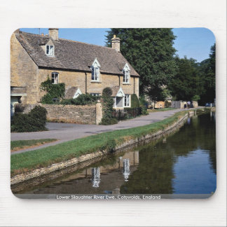 Lower Slaughter River Ewe Cotswolds England Mousepads