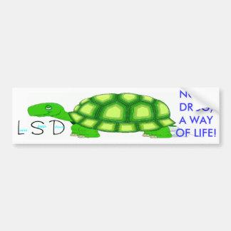 Lower Slower Delaware Car Bumper Sticker