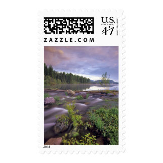 Lower Stillwater Lake in the Flathead National Postage