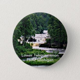 Lower Tahquamenon Falls, Michigan Button