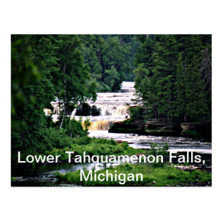 Lower Tahquamenon Falls Michigan Post Cards