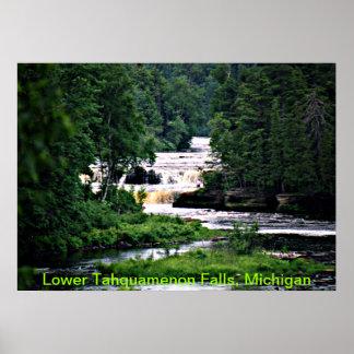 Lower Tahquamenon Falls, Michigan Poster