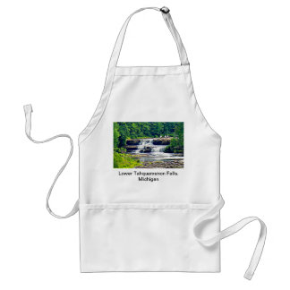 Lower Tahquamenon Falls & People, Michigan Adult Apron