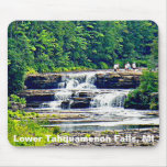 Lower Tahquamenon Falls & People, Michigan Mouse Pad