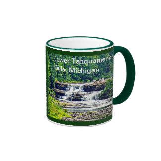 Lower Tahquamenon Falls & People, Michigan Mug