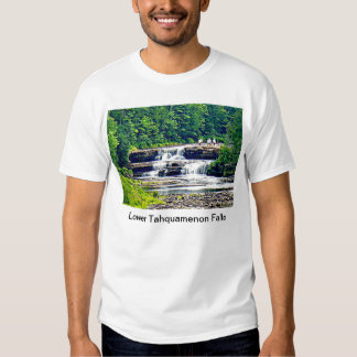 Lower Tahquamenon Falls & People, Michigan Tees