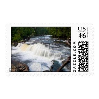 Lower Tahquamenon Falls Postage Stamp
