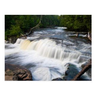 Lower Tahquamenon Falls Postcard