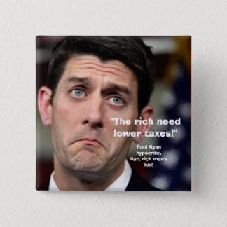 LOWER TAXES - Button