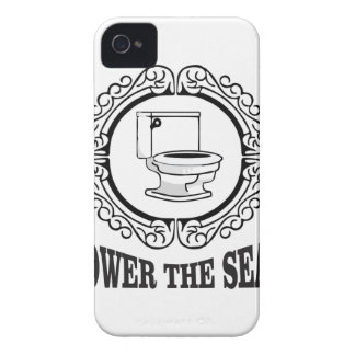 lower the seat iPhone 4 Case-Mate case