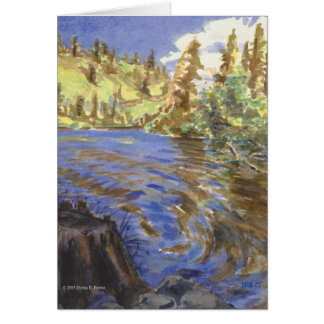 Lower Twin Lakes Card