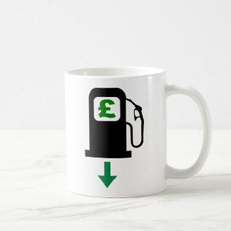 Lower UK Petrol Prices Coffee Mug
