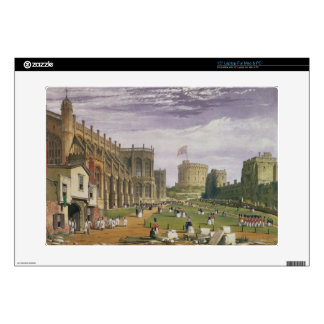 "Lower Ward with a view of St George's Chapel and t 15"" Laptop Skins"