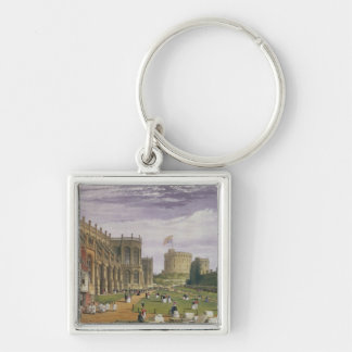 Lower Ward with a view of St George's Chapel and t Key Chain