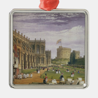 Lower Ward with a view of St George's Chapel and t Metal Ornament
