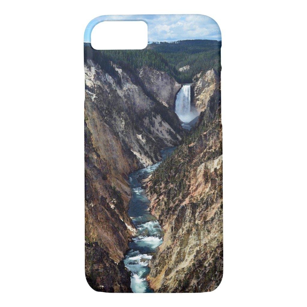 Lower Yellowstone Falls iPhone 7 Case