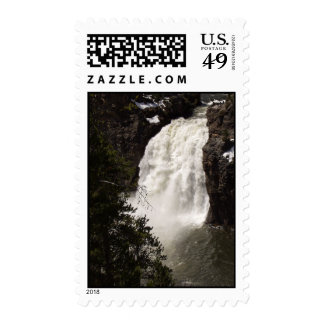 Lower Yellowstone Falls Postage Stamps