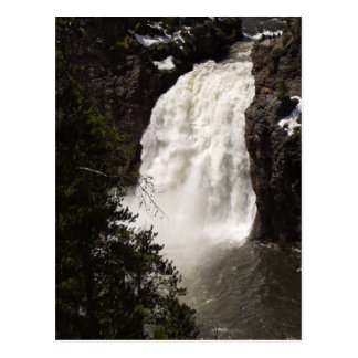 Lower Yellowstone Falls Postcard