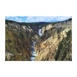 Lower Yellowstone Falls Stretched Canvas Prints