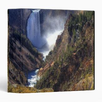 Lower Yellowstone Falls, Yellowstone National Binder