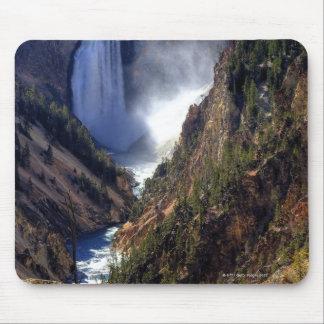 Lower Yellowstone Falls, Yellowstone National Mouse Pad