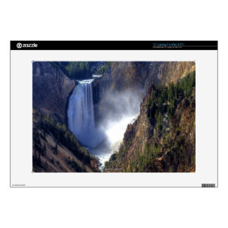 "Lower Yellowstone Falls, Yellowstone National Skins For 15"" Laptops"