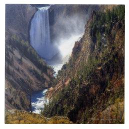 Lower Yellowstone Falls, Yellowstone National Tile