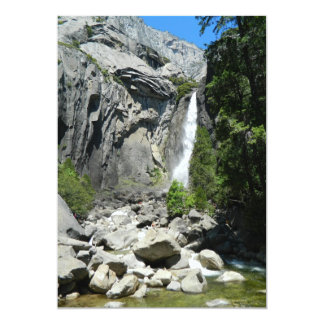 Lower Yosemite Falls Card