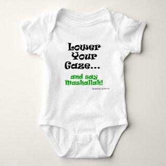 Lower your gaze baby bodysuit