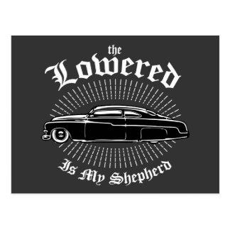 Lowered is my Shepherd Postcard