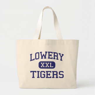 Lowery Tigers Middle Donaldsonville Canvas Bags