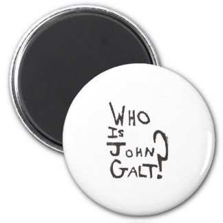Lowest Cost Ayn Rand, Atlas Shrugged and John Galt Magnet