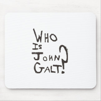 Lowest Cost Ayn Rand, Atlas Shrugged and John Galt Mouse Pad