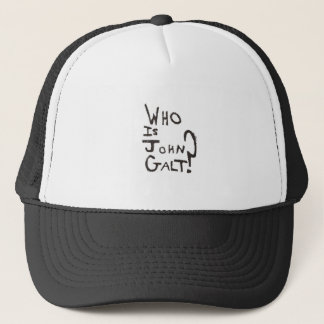Lowest Cost Ayn Rand, Atlas Shrugged and John Galt Trucker Hat