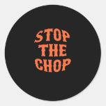Lowest Cost SF Gear Round Sticker