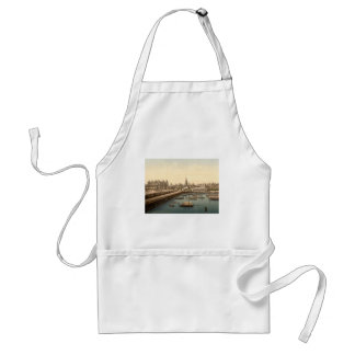 Lowestoft Harbour I, Suffolk, England Adult Apron