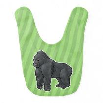 Lowland Gorilla Bib