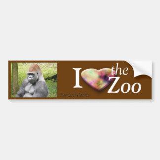 Lowland Gorilla Car Bumper Sticker