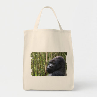 Lowland Gorilla Grocery Tote Bag