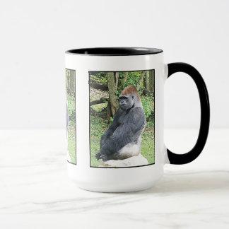 Lowland Gorilla in Sitting Pose Mug