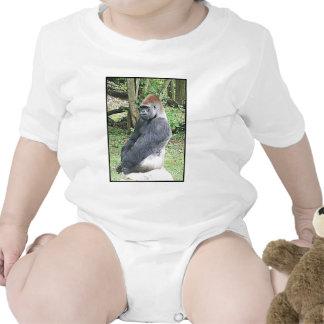 Lowland Gorilla in Sitting Pose T Shirt