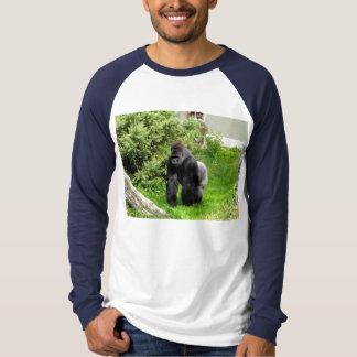 Lowland Gorilla male knuckle walking T-Shirt