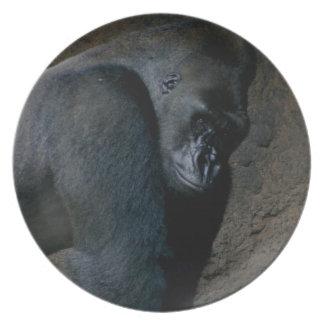 Lowland Gorilla Plate